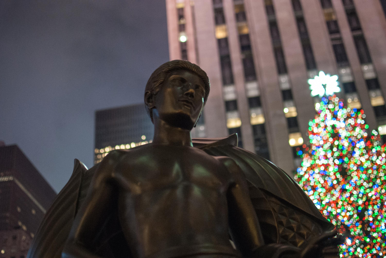 Prometheus' «Jugend» vor dem Rockefeller Center in New York